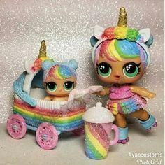 I lol supraze Baby Girl Toys, Toys For Girls, Kids Toys, Unicorn Surprise, Cute Unicorn, Rainbow Unicorn, Unicorn Birthday Parties, 8th Birthday, Lol Dolls