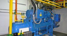 Equipos de frio con amoniaco como refrigerante http://www.camarasfrigorificas.es/blog/importancia-y-riesgos-del-amoniaco/