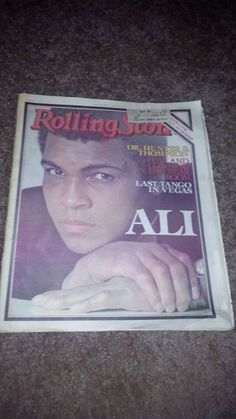 Check out this item in my Etsy shop https://www.etsy.com/listing/212175985/vintage-muhammad-ali-rolling-stone