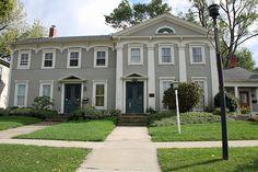 David R Paige House, 21-29 W Main St, Madison, Ohio