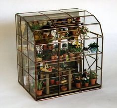 Pot shed2 #miniatures, doll house