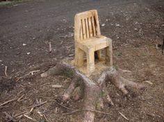 stump chair