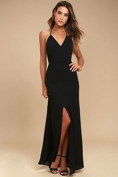 Story of a Starry Night Black Backless Lace Maxi Dress 1 Gasa bfa0eb0977d