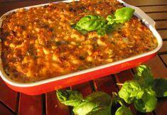 Liha-kasvismakaronilaatikko Kala, Lasagna, Ethnic Recipes, Food, Eten, Meals, Lasagne, Diet