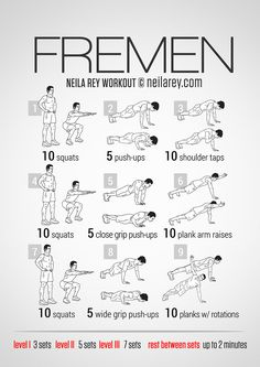 Fremen Workout! Great website for workouts, FREE programs, meal plans and health/fitness related articles.
