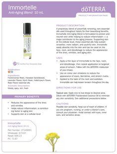 Immortelle Essential Oil Uses