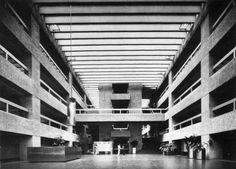 El Infonavit, Mexico City, Mexico, 1973 (Abraham Zabludovsky and Teodoro González de León)