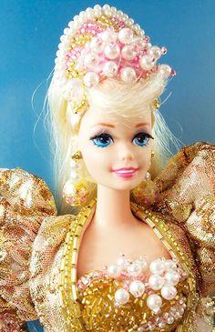 Gold Jubilee Anniversary Barbie Doll