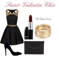 """Une Saint-Valentin Chic"" by all-about-venus on Polyvore"