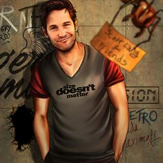 "The Avengers and Their Favorite T-Shirts Series: Scott Lang - Deviant Artist ""Petite-Madame"""