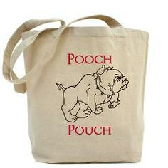 Pooch Pouch Tote Bag > Canvas Tote Bags > The Art Studio by Mark Moore