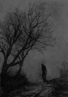 scary art Black and White lonely Cool dope creepy horror alone b&w Halloween dark man amazing darkness Unique spooky eerie arts freaky Black Metal dark art dark passenger