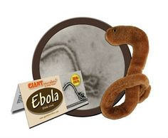 Maybe now isn't the best time to sell an Ebola plush toy?