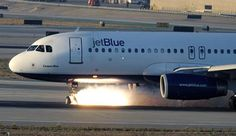 jetblue | JetBlue A320 during its emergency landing. Photo courtesy to ...