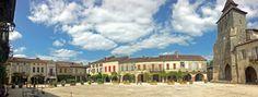 Panorama de Labastide d'Armagnac #landes #armagnac #labastide #village