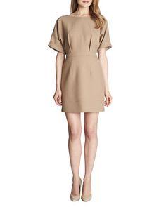 Ava+Cuffed-Short-Sleeve+Dress++by+Cynthia+Steffe+at+Neiman+Marcus.