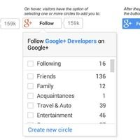 Google Launches New Google+ Plugins For Websites