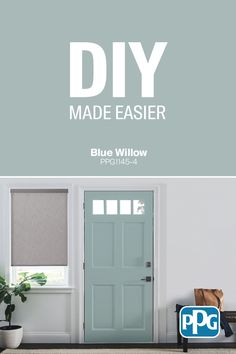 Your next project just got a lot easier. Room Colors, Wall Colors, House Colors, Colours, Favorite Paint Colors, Front Door Colors, Interior Paint, Interior Colors, Modern Interior