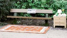 Hinz & Kunzt – Don't Let This Place Be A Home - from 30 Clever Examples of Park Bench Advertising Campaigns