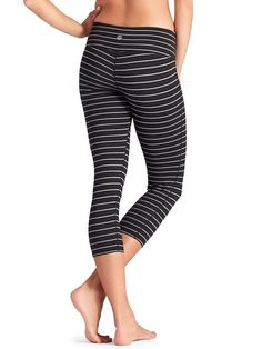 Stripes Chaturanga Capri - Athleta. Cute.