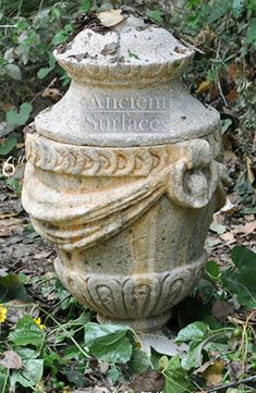 Antique Stone Planters and Pedestals by Ancient Surfaces Stone Planters, Urn Planters, Outdoor Living, Outdoor Decor, Organic Beauty, Pedestal, Layout Design, Landscape Design, Serenity