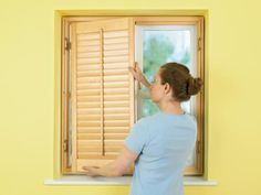 Interior window shutters are decorative, but they also provide privacy and insulation and can be beneficial to allergy sufferers.