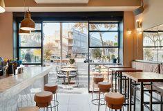 Amarre 69 ©pptinteriorismo #interiordesign #barceloneta #wood #cork #marble #leather #interiorismo #restaurant #contract