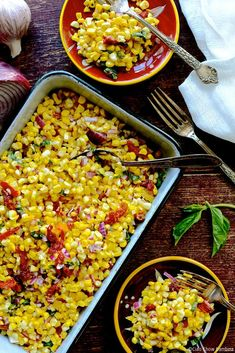 Pan-Roasted Tuscan Corn Salad with Sun-Dried Tomatoes ciaochowbambina.com