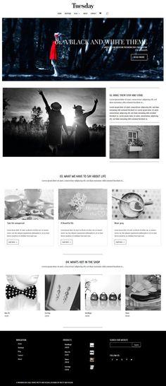 Tema WordPress plantilla para bodas, bloggers y fotógrafos ...