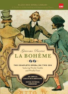 La Boheme: Black Dog Opera Library by Giacomo Puccini.