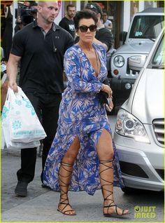 Kim Kardashian de férias com a família em St. Barts!