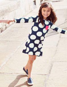 Jersey Spot Dress size 3-4
