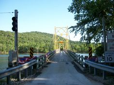 The Golden Gate Bridge of Arkansas Beaver, Ar   ( Google)
