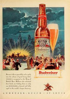Budweiser Print Ad (1933)