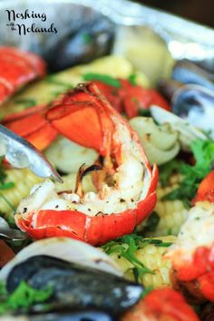 Easy Summer Clambake | RECIPES | Pinterest | Seafood, Seafood Recipes ...