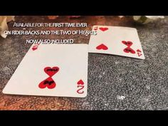 Saturn Magic -ONE Two of Hearts (Online Instructions and Red Gimmick) Edition by Matthew Underhill First Second, First Time, Justin Miller, Magic Supplies, The Spectator, Wedding Anniversary Cards, Just Giving, The Magicians