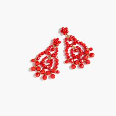 J.Crew - Beaded rumba earrings
