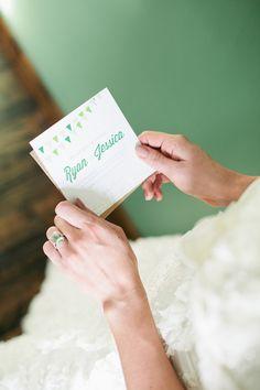 Emerald Wedding Invitation Ideas