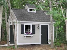 """@Kelly Behen """"one day we'll have the prettiest outhouse in town."""" here's your inspiration : )"""
