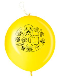 2 Globos Punch Ball Emoji™