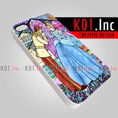 Disney Cinderella Story Glass  iPhone 4/4s/5 Case  by K01Inc, $15.50