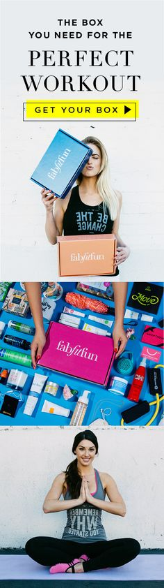 Treat yourself to the best gift ever! A box that costs just $39.99 but is stacked with over $200 worth of FULL-SIZE fitness, fashion, + beauty products! You can't take shortcuts to fitness but you can take a shortcut to this deal with code FITNESS!