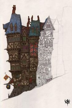 Post with 14 votes and 2828 views. Shared by SovietskiyPartizan. 2007 Concept arts WHO. Part Warhammer FB Fantasy Town, Fantasy House, Fantasy Village, Warhammer Online, Diorama, Game Textures, Fantasy Art Landscapes, Fantasy Artwork, Building Art