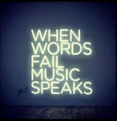 When words fail music speaks // via Sex + Design
