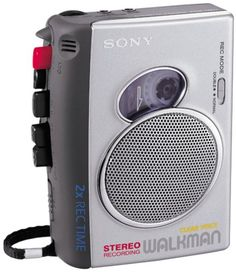 Sony TCS-30D Pressman Cassette Recorder with Stereo Recording/Playback | Best TV Brands