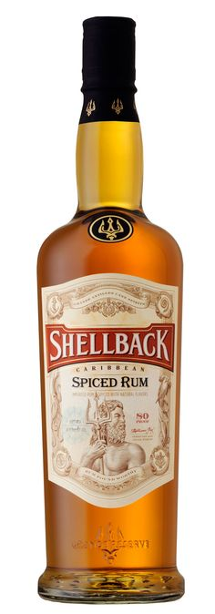 Shellback Rum, a new premium rum for today's contemporaries. Designed by E Gallo