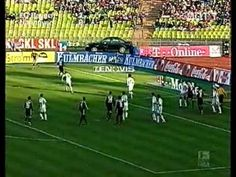 Bundesliga 2002: Bayern München- Hannover 96 3:3
