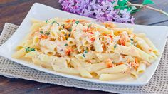 Penne with smoked salmon: I actually have the ingredients for this already!! Nom Rating: 3.5 Stars