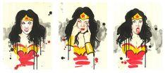 VERY WONDER WOMAN by Lora8 deviantart