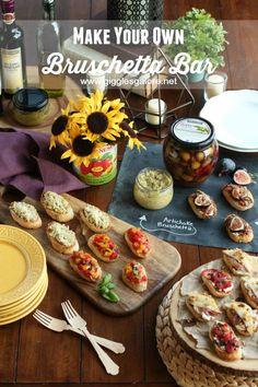 Entertaining: Make Your Own Bruschetta Bar